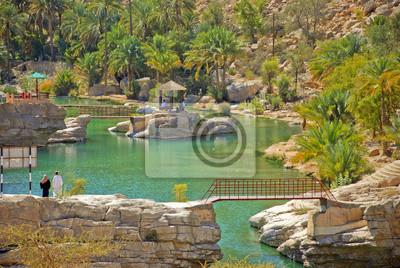 Wadi Bani Khalid, Omán