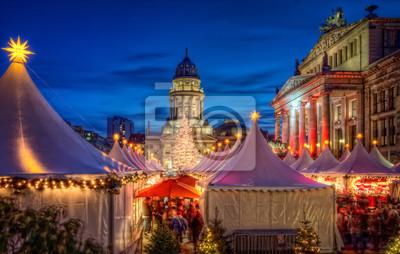 Póster Weihnachtsmarkt Berlín