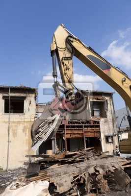 家屋 の 解体 工事