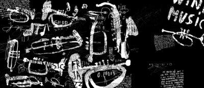 Póster Духовые музыкальные инструменты