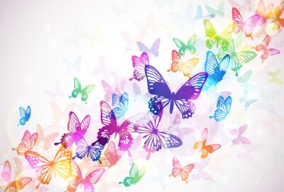 Póster 蝶 々