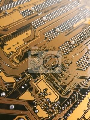 コンピュータ の IC 基 盘
