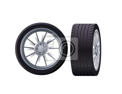 Póster колесо