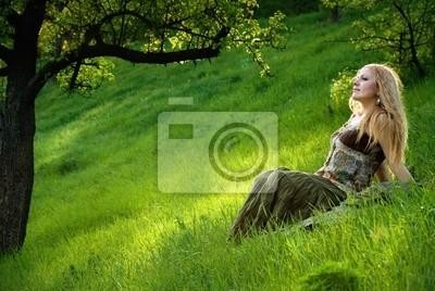 Sunset prado © Anton Violin # 22671849