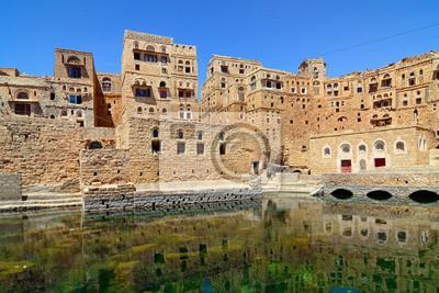 Yemen. Pueblo tradicional
