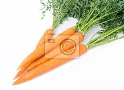 Zanahoria aislado