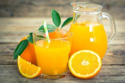 Póster zumo de naranja