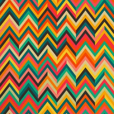 Vinilo Abstracto del color de la vendimia retro patrón de fondo sin fisuras