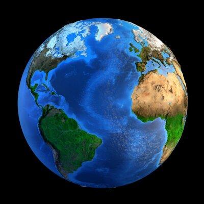 Vinilo Accidentes geográficos Planeta Tierra