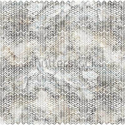 Vinilo Acuarela zigzag chevron patrón moderno