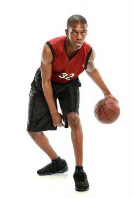 Vinilo Afroamericano Jugador de baloncesto