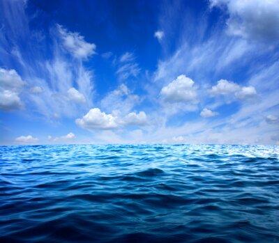 Vinilo Agua azul del mar