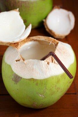 Vinilo Agua de coco verde
