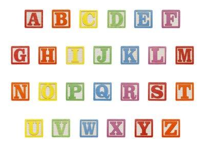 Vinilo Alphabet Blocks Top