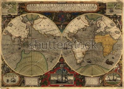 Vinilo Ancient map