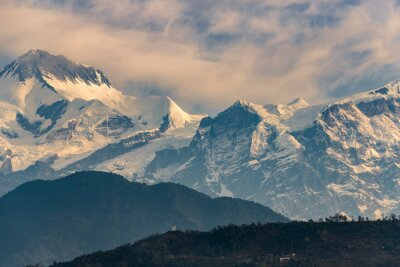 Vinilo Annapurna gama en la salida del sol