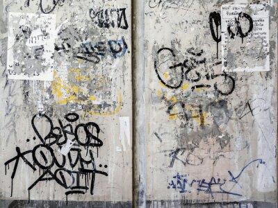 Vinilo Antecedentes Grunge textura de la pared en Bangkok