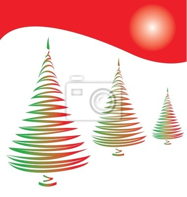 f4d4b5dc12d Árbol de navidad estilizado vinilos para portátiles • vinilos para ...