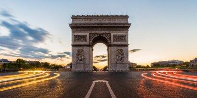 Vinilo Arco de Triunfo de París