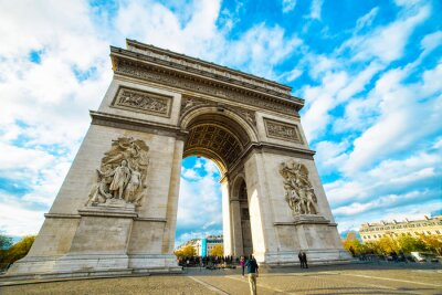 Vinilo Arco del Triunfo en París
