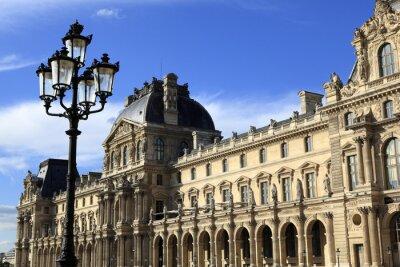 Vinilo Arquitectura renacentista en el Museo del Louvre, París