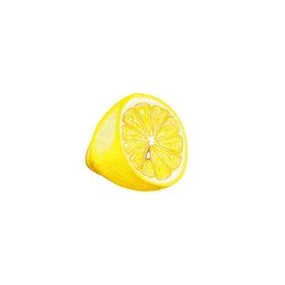 Vinilo arte del limón