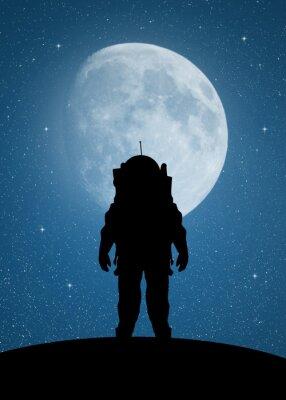 Vinilo Astronauta a Marte