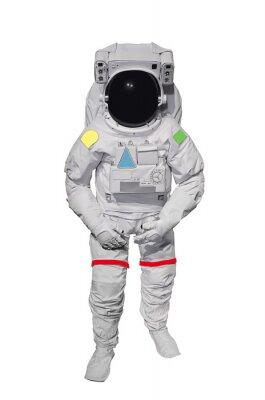 Vinilo Astronauta aisladas sobre fondo blanco