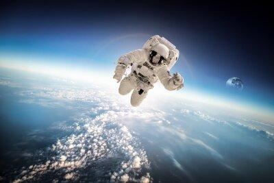 Vinilo Astronauta en el espacio exterior