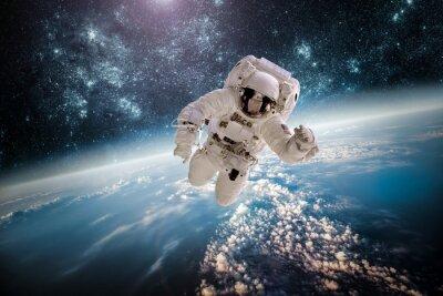 Vinilo Astronauta spac exteriores elementos de esta imagen proporcionada por la NASA.