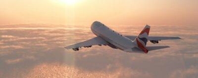 Vinilo Avión de pasajeros