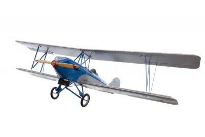 Vinilo Avión modelo aislado contra blanco