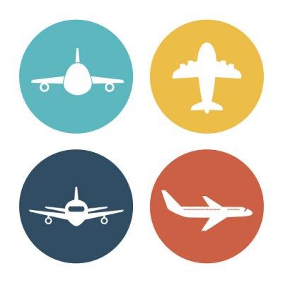 Vinilo Avión y viajes