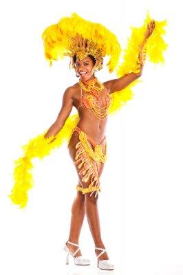 Vinilo Bailarina brasileña Samba