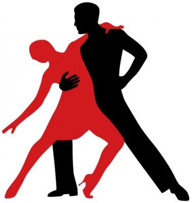 Vinilo Bailarines de tango