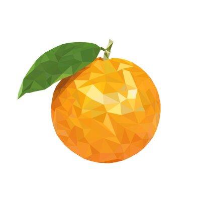 Vinilo Bajo poli naranja