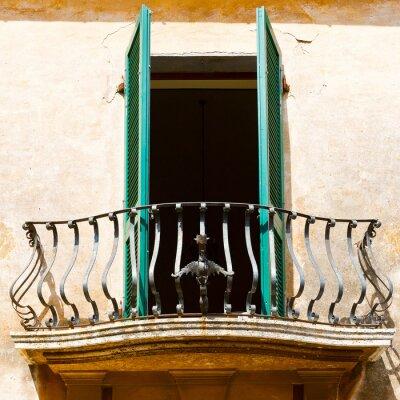 Vinilo balcón italiano