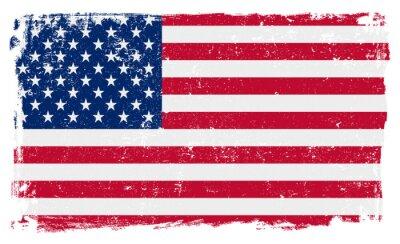 Vinilo Bandera de EE.UU. en formato vectorial
