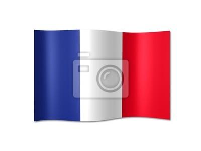 Vinilo Bandera de Francia
