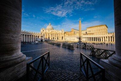 Vinilo Basílica de San Pedro en Roma, Italia