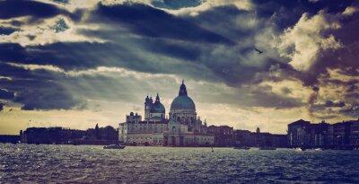Vinilo Basílica de Santa María della Salute en Venecia