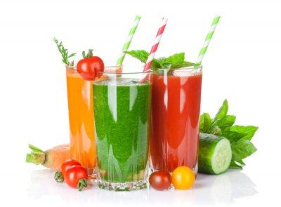Vinilo Batido de verduras frescas