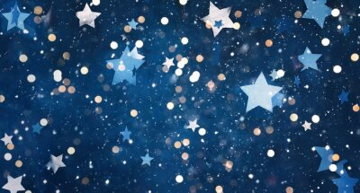 Vinilo Beautiful decorative Christmas background