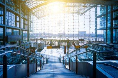 Vinilo Berlin Hauptbahnhof