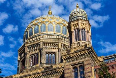 Vinilo Berlín sinagoga en el barrio de Mitte