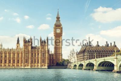 Vinilo Big Ben in sunny day, London