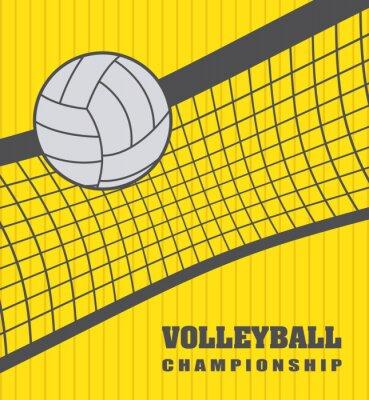 Vinilo Bola del voleibol