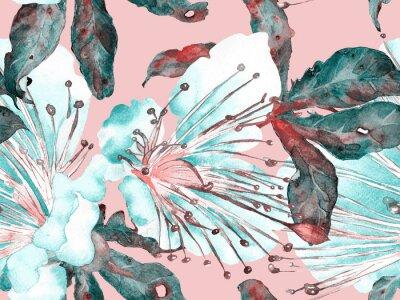 Vinilo Bold Floral Design.