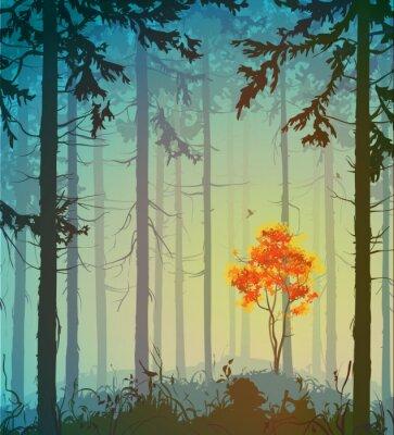 Vinilo bosque