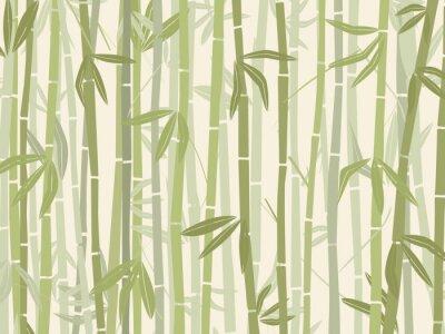 Vinilo Bosque de bambú